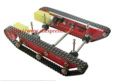 Free shipping DD1-1 Tank Track Chassis Integrated Speed Measurement + Motor Drive Module for SCM DIY Experiment