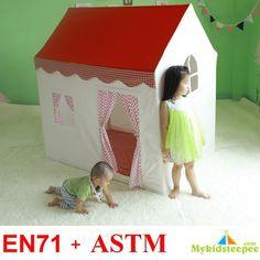 Tão bela! 100% algodão! Crianças tenda casa brinquedos casa de jogo de indiano tenda tenda em Barracas de Brinquedos & Lazer no AliExpress.com | Alibaba Group