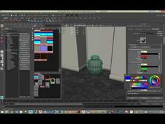 Working With the MILA Layered Material in Maya 2015 - Lesterbanks