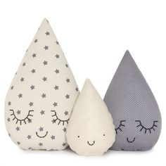 Kids tear drop pillow