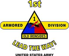"1st Armored Division ""Lead The Way""  United States Army Shirt.  World War II  Mediterranean & Europeans Campaigns: Algeria*French Morocco*Tunisia*Naples-Foggia*Anzio*Rome-Arno*North Appennines* Po Valley.  (August 1945 Location: Salzburg, Austria)  (Killed In Action:1,194)  (Wounded In Action:5,168)  (Died Of Wounds:234)"