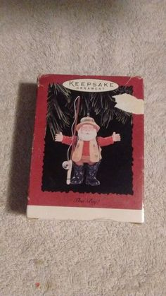 "Keepsake ornament ""This Big"" dated 1996"