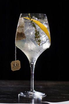 Drink: gin tônica com chá de limão siciliano e gengibre (Foto: Divulgação)