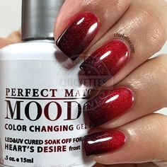 LeChat Perfect Match Mood Polish - Heart's Desire