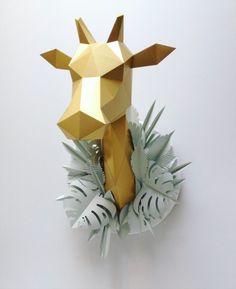 trophée girafe assembli
