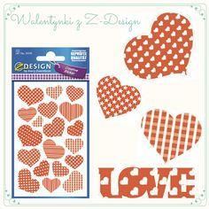 Naklejki Z Design na Walentynki Kod: 55595