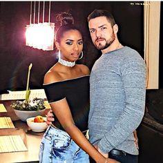 Super gorgeous interracial couple #love #wmbw #bwwm #swirl #biracial #mixed #lovingday #relationshipgoals
