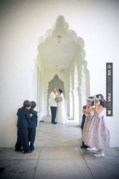 Neato! - Peeking at the Bride & Groom  //  donald norris photography | CHECK OUT MORE GREAT BLACK AND WHITE WEDDING IDEAS AT WEDDINGPINS.NET | #weddings #wedding #blackandwhitewedding #blackandwhiteweddingphotos #events #forweddings #iloveweddings #blackandwhite #romance #vintage #blackwedding #planners #whitewedding #ceremonyphotos #weddingphotos #weddingpictures