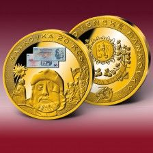 "Mimořádná ražba ""Bankovka 20 Kčs"" Coins, Personalized Items"