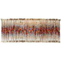 Rare and Monumental Fiber Art Wall Hanging by Kris Dey – Lindsay Schaffner – weberei Weaving Wall Hanging, Weaving Art, Tapestry Weaving, Hanging Wall Art, Wall Hangings, Modern Tapestries, Textiles, Wall Art For Sale, Weaving Techniques