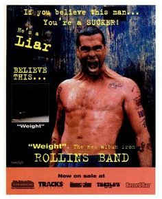 """Rollins Band, """"Weight"""" [1994] 