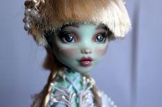 https://flic.kr/p/Ve4s5D | Blanca - custom OOAK Monster High Doll repaint | www.etsy.com/uk/listing/520825516/blanca-custom-ooak-mons...