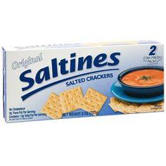 Original Saltine Crackers. 8-oz. Box