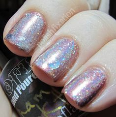 Soflajo Polishes: Champagne Cocktail over Manhattan