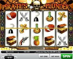 Pirates Plunder Slot machine is a 5 reel, 9 payline video slot game from Gamesys. It is loosely based on the Pirates of the Carribbean. Slot Machine, Pirates, Games, Gaming, Plays, Game, Toys, Arcade Machine