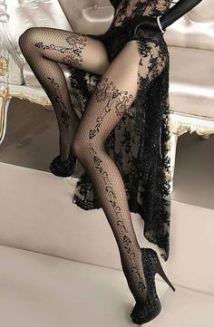 Stockings Boutique, supplying luxury stockings, hold ups, tights and lingerie to glamorous women. Silk and nylon stockings are our speciality. Hot Lingerie, Black Lingerie, Gothic Lingerie, Lingerie Ladies, Lingerie Drawer, Estilo Lolita, Glamour, Stocking Tights, Sexy Stockings