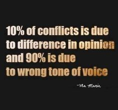 I am truly offended by the tone of voice!!!