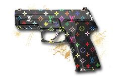 Louis Vuitton Monogram Multi Gun Fashion by DominaDesignsLA