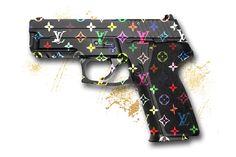 Louis Vuitton Monogram Multi Gun Fashion by DominaDesignsLA