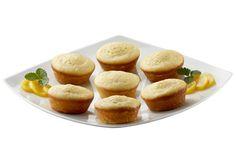 Muffins de Philadelphia con Durazno