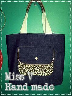 Bolsa para niñas Miss V hand made