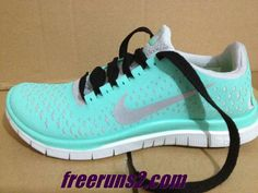 Womens Nike Free 3.0 V4 Tropical Twist Reflective Silver Pro Platinum Black Lace Tiffany Blue Nike Shoes