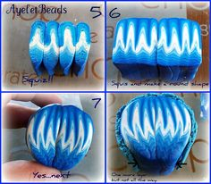 Ayelet Beads - tutorial 2 of 3, polymer clay.