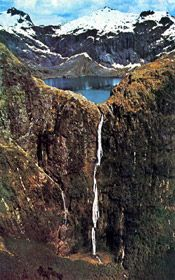 Sutherland Falls Milford Sound New Zealand - I have wanted to go since I watched Xena and Hercules