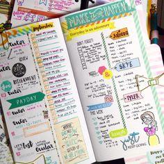 Workin' it on my Planners&Journals Dailydori