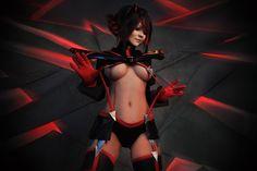 Ryuko Matoi from Kill la Kill cosplay.