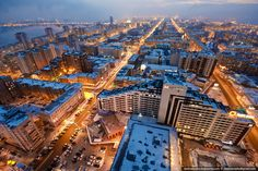 Rooftopping de Vadim Mahorov  Moscow