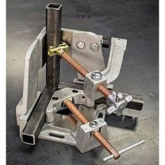 Welders Welding Angle Clamp - From a post all about welding clamps.You can find Welding table and more on our Welders Welders Welding Angle Clamp - From a post all about welding clamps.You can find Welding table and more on our Welders Weldin. Metal Welding, Welding Jig, Welding Classes, Welding Table, Welding Cart, Welding Machine, Metal Projects, Welding Projects, Welding Ideas