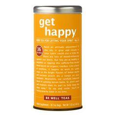 get happy® - No. 13 Tea for Lifting Your Spirits | The Republic of Tea