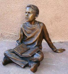 *Karl Jensen (sculptor), Man of the Future maquette Bronze Art Photography, Sculpture Garden, Bronze, Statue, Fine Art, Gallery, Artist, Future, People