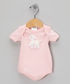 Take a look at this Pink Poodle Bodysuit - Infant by Victoria Kids on #zulily today!