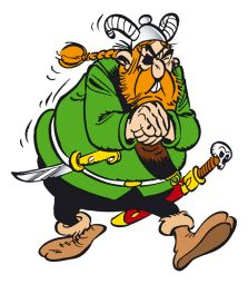 Asterix - The A to Z of Asterix - Characters - Redbeard