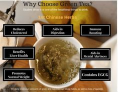 Variety of teas and their distinctive flavors