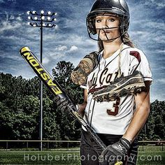 Love this for a softball girl! Even baseball. Softball Team Pictures, Senior Pictures Sports, Baseball Pictures, Sports Photos, Senior Photos, Cheer Pictures, Senior Posing, Senior Session, Senior Portraits