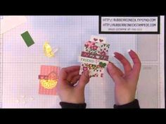 Rubber Redneck Hostess Club Project~Bloomin Love Note - YouTube