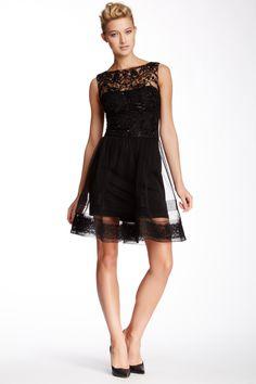 Marchesa Notte Beaded Detail Dress by Marchesa on @HauteLook