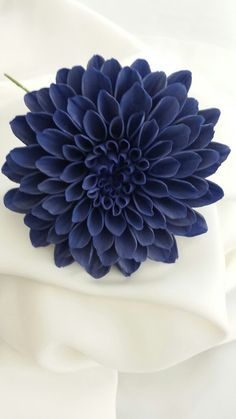 DAHLIA Wedding Cake Topper Sugar Flower / HIGH QUALITY (Large---Gum Paste) on Etsy, $34.75