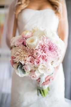 Stunning Wedding Bouquet - Design + via: Florals by Jenny