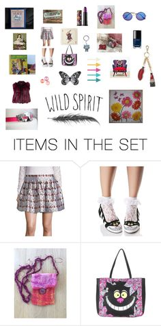 """""""Alice in Wonderland"""" by chicavantgarde ❤ liked on Polyvore featuring art"""