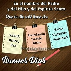 Buenos días Good Morning Good Night, Good Morning Quotes, Catholic Religious Education, Morning Thoughts, Stylish Nails, Love Messages, Daily Quotes, Wisdom, Signs