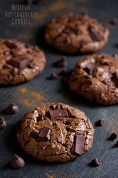 Mexican Hot Chocolate Cookies | Life Made Simple