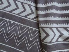 Chevron Indigo Block print soft cotton one yard by indianstores Dressmaking, Printing On Fabric, Chevron, Indigo, Cotton Fabric, Quilts, Clothes For Women, Pillows, Yard