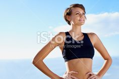 Fresh air, sunny weather and a great run Royalty Free Stock Photo