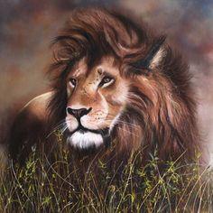 "Saatchi Art Artist Gary Longordo; Painting, ""Lion King"" #art"
