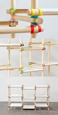 Simple commodity shelf design
