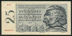 CzechoslovakiaP87a-25Korun-1958-donated_f Commemorative Coins, World Coins, Socialism, Bratislava, Childhood Memories, Banknote, European Countries, Czech Republic, Stamps